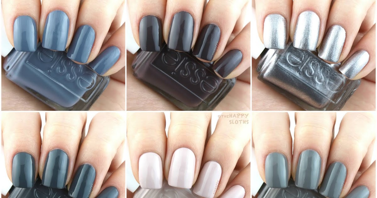 Essie 2019 Serene Slate Collection Review And Swatches