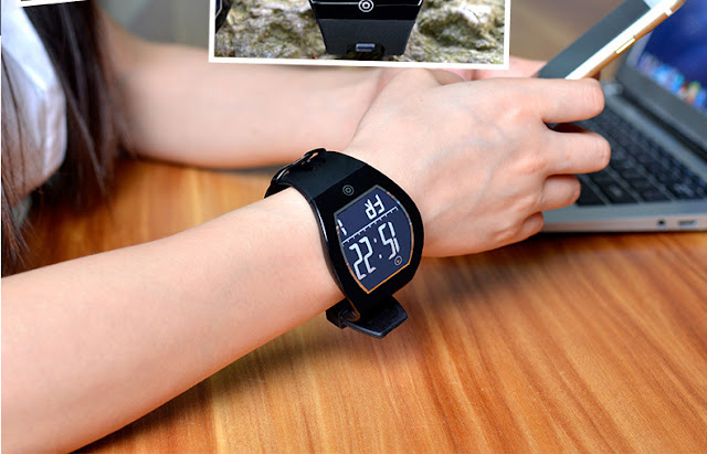 Curved Screen Bluetooth Waterproof Smart Watch