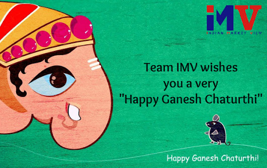 We wish you all a very Happy Ganesh Chaturthi !!