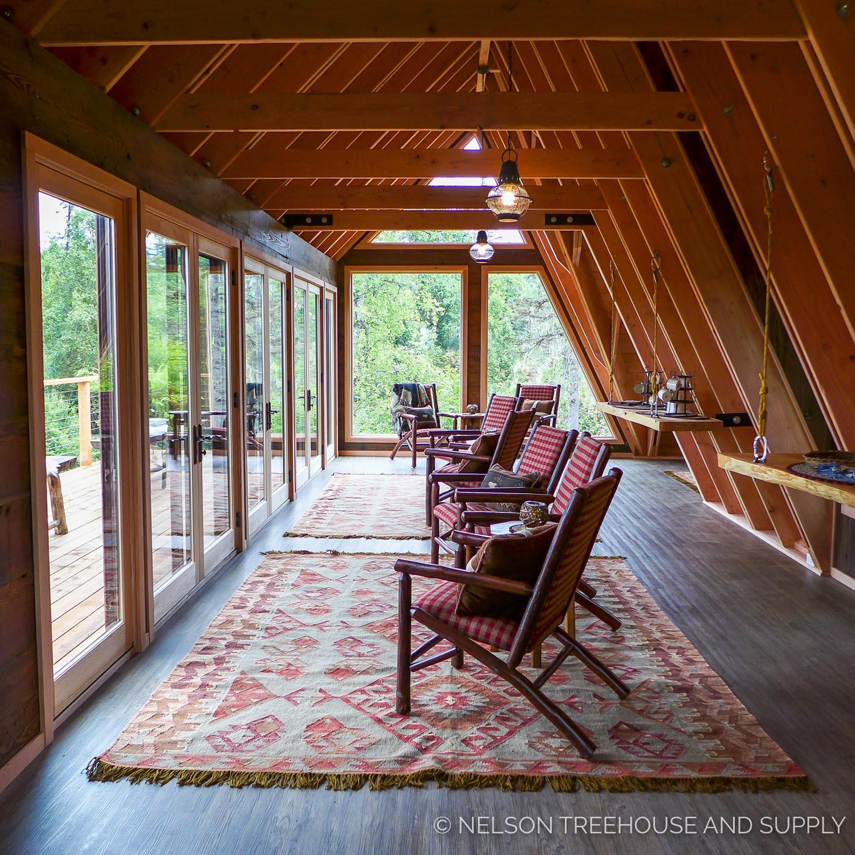 The Little Living Blog Alaskan Mountain Treehouse
