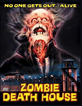 Poster Of Zombie Death House In Dual Audio Hindi Spanish 300MB Compressed Small Size Pc Movie Free Download Only At worldfree4u.com