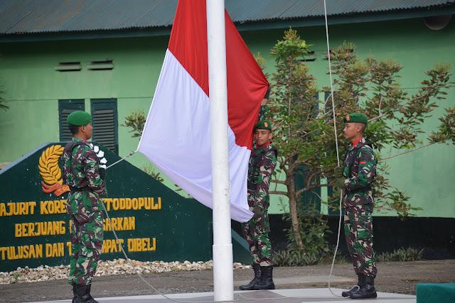 Ini Pesan Pangdam XIV/Hsn, Lewat Danrem 141/Tp, Disampaikan di Upacara Bendera