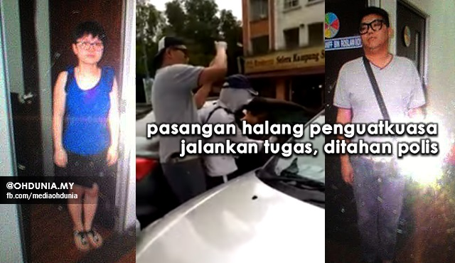 Pasangan Halang Penguatkuasa MBSA Jalankan Tugas Ditahan