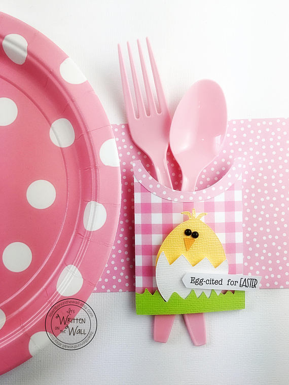 Easter Chick Utensil Holder