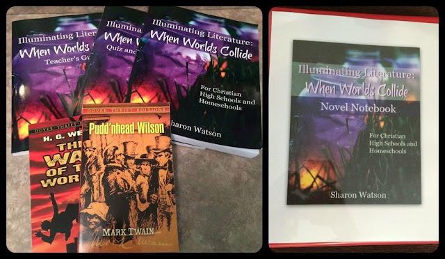 Review of Illuminating Literature: When Worlds Collide. High School level literature program.