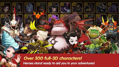Free Download HEROES WANTED : Quest RPG Apk v1.0.9.24062 (God Mod/Massive Damage)