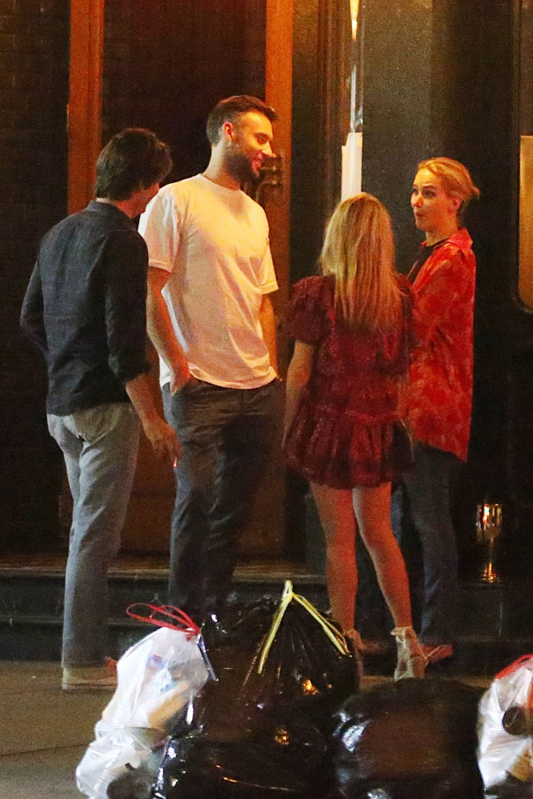 Jennifer Lawrence And Cooke Maroney Night Out In New York