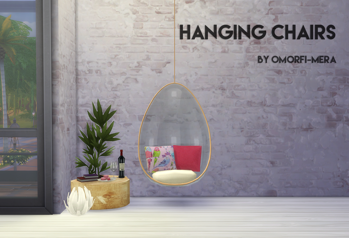 hanging chair the sims 4 green high my blog ts3 conversion by omorfimera