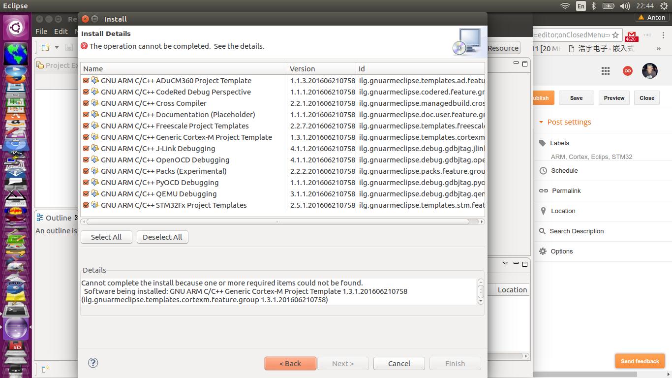 ZR6AIC: Setting up my ARM Cortex STM32 Development