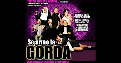 SE ARMO LA GORDA (TEATRO-COMEDIA) 1