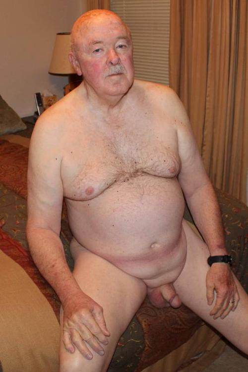 Very old man thick cock
