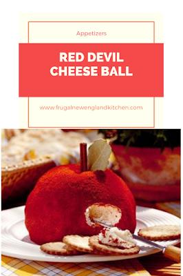 Red Devil Cheese Ball Recipe