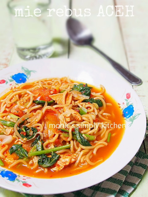 mie aceh rebus/kuah