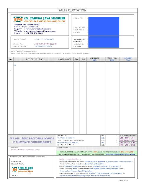 contoh proforma invoice - 28 images - use of proforma invoice
