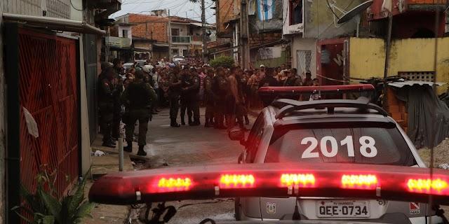 IML libera corpos de vítimas da Chacina do Guamá em Belém