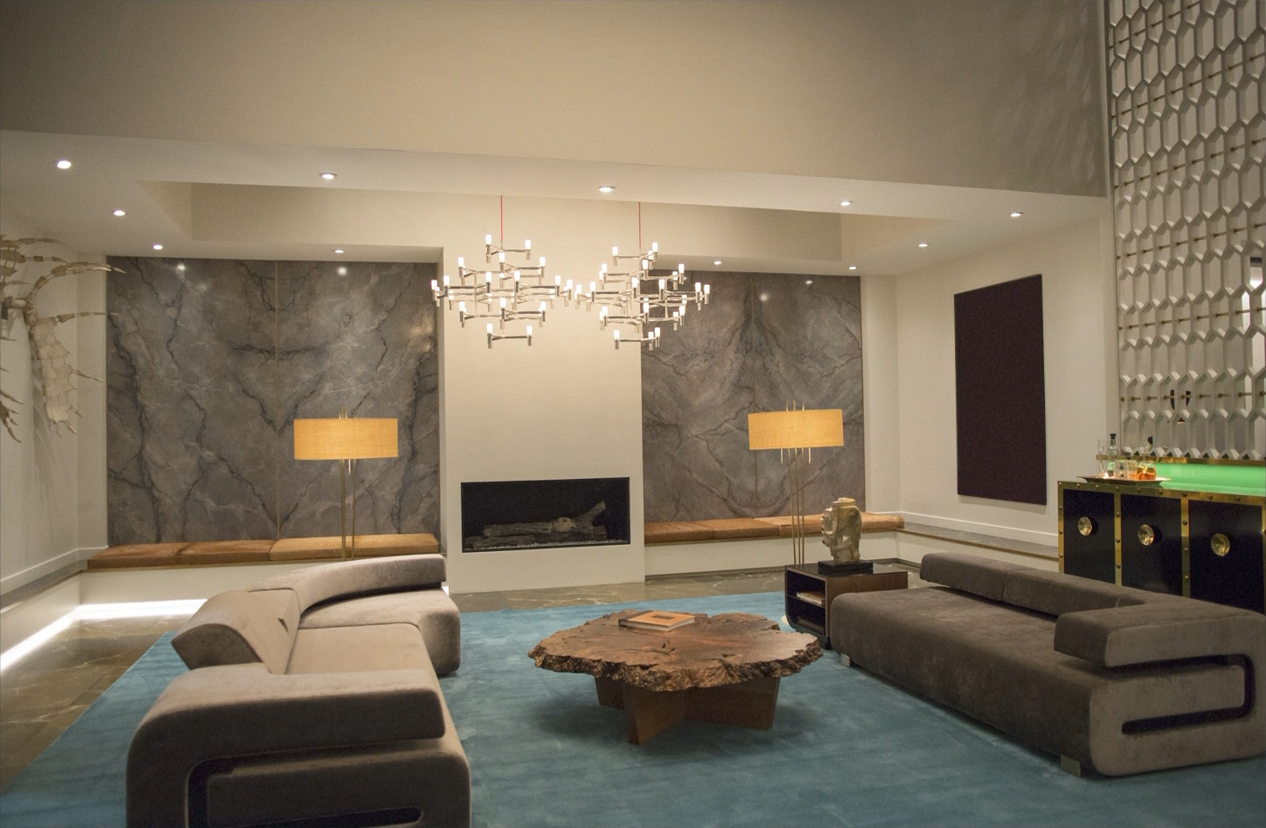 Fiftyshadesin Photos Christian Grey S Apartment From