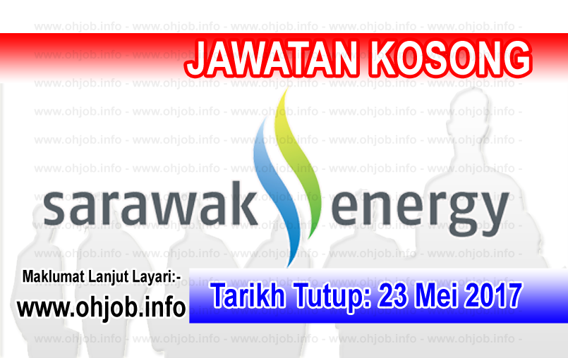 Jawatan Kerja Kosong Sarawak Energy logo www.ohjob.info mei 2017