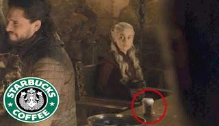 """Starbucks تجني 2.3 مليار دولار باعلان مجاني في مسلسل """" صراع العروش """" بالخطأ"""