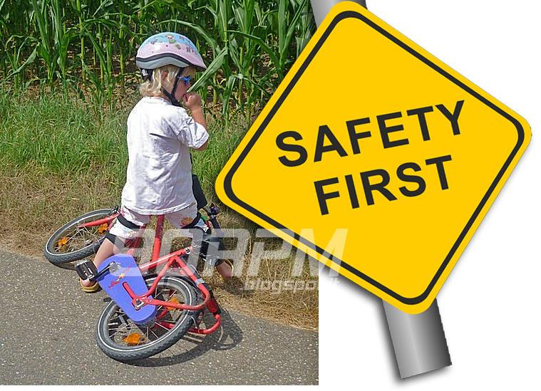 Un nuovo manubrio rende più sicure le biciclette per bambini in caso di caduta