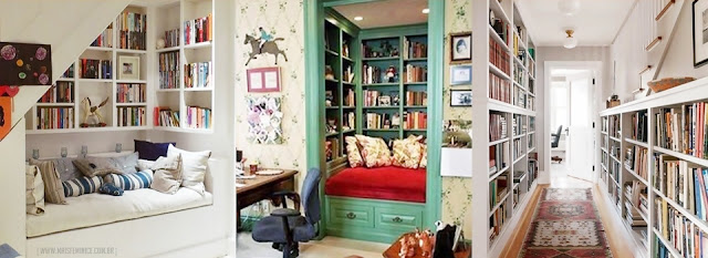 Biblioteca na decoração