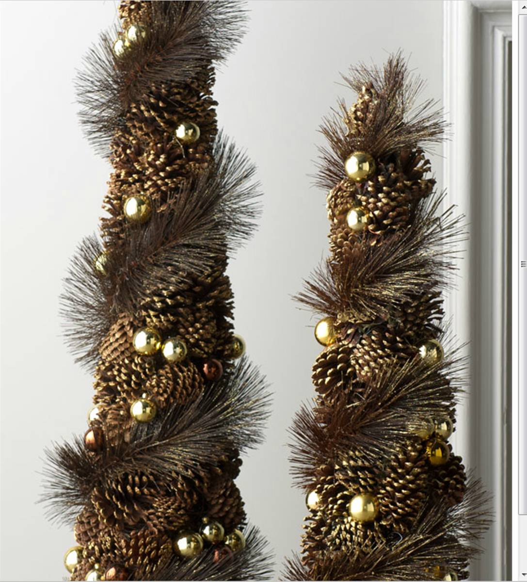 Perennial Passion: Pinecone Christmas Decor