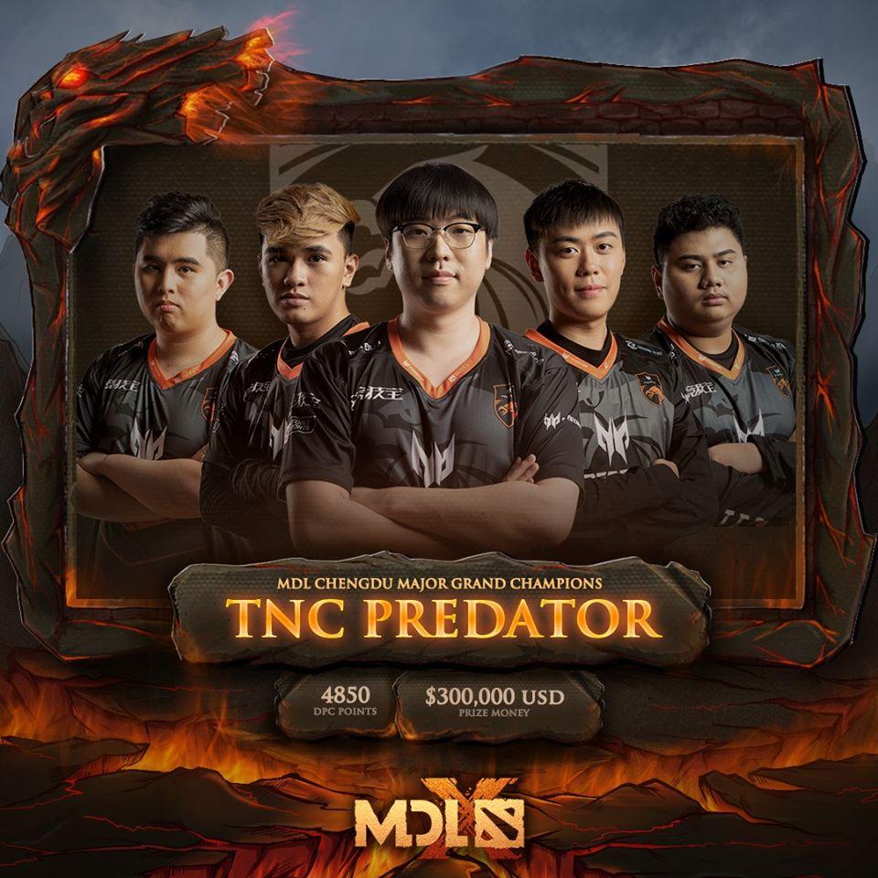 tnc champion - Bảng A Leipzig Major: Nigma vs TNC Predator - Người tám lạng, kẻ nửa cân