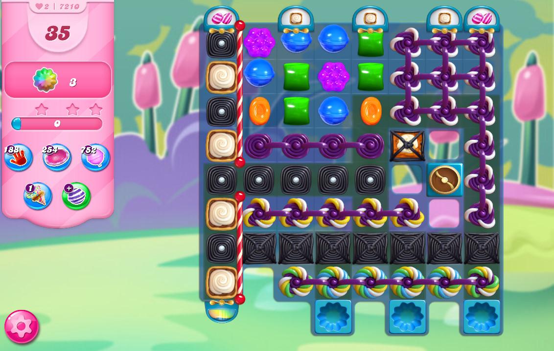 Candy Crush Saga level 7210