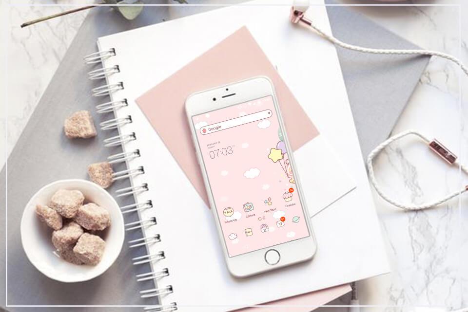 Como deixar seu celular fofinho: Temas e Apps (Android)