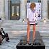 #imeresthalassas:Πασαρέλα έξω από το Δημοτικό Θέατρο!