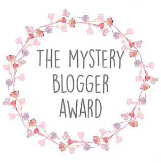 The Mystery Blogger Award graphic