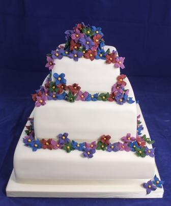 Gardners Bakery Wedding Cakes Up Close