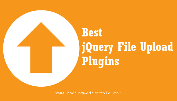 Best 7 jQuery File Upload Plugins (Drag and Drop, Progress Bar)