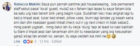 sepahkan hotel, hotel, housekeeping, kemas bilik hotel, jangan buat macam kandang, jaga kebersihan hotel