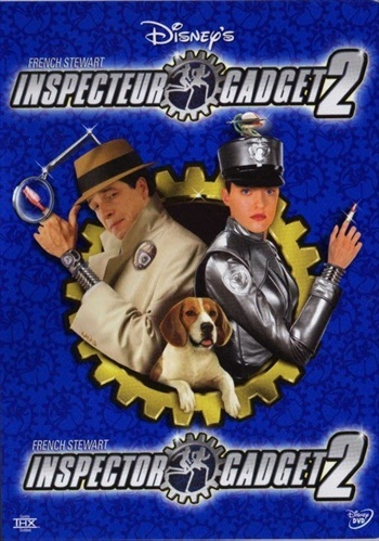 Inspector Gadget 2 (2003) 720p Dual Audio Hindi 480p WEB-DL 280mb