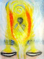 La haut, les ailes des Anges soignent la douleur des innocents. De leur vole passe sur le temps un souffle heureux. Leur amour rend les cœurs joyeux.