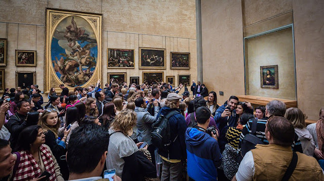 Fracasos viajeros Mona Lisa