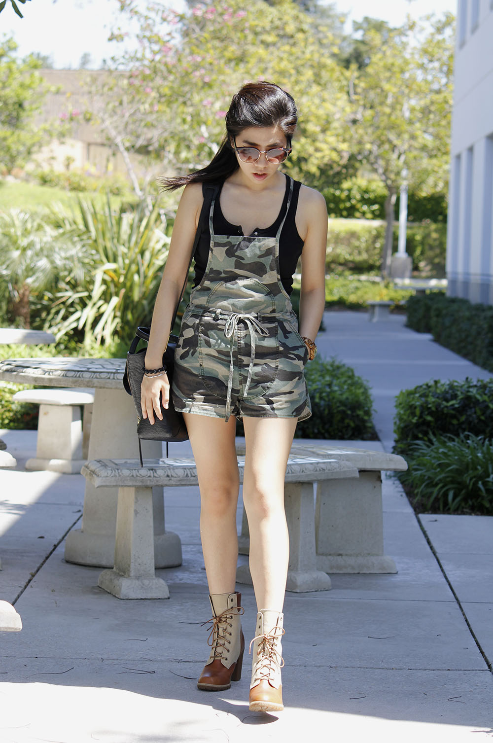 Adrienne Nguyen_Invictus_camouflage romper_army girl