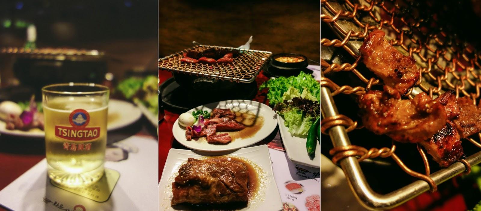 Korean Barbecue in Shanghai