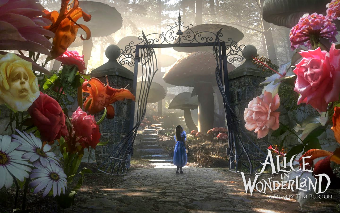 Alice in Wonderland HD Wallpaper