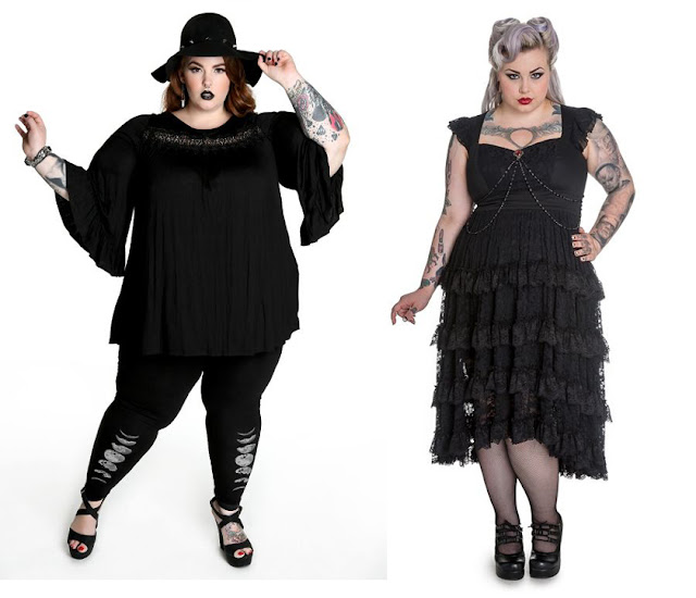 Moda Alternativa plus size
