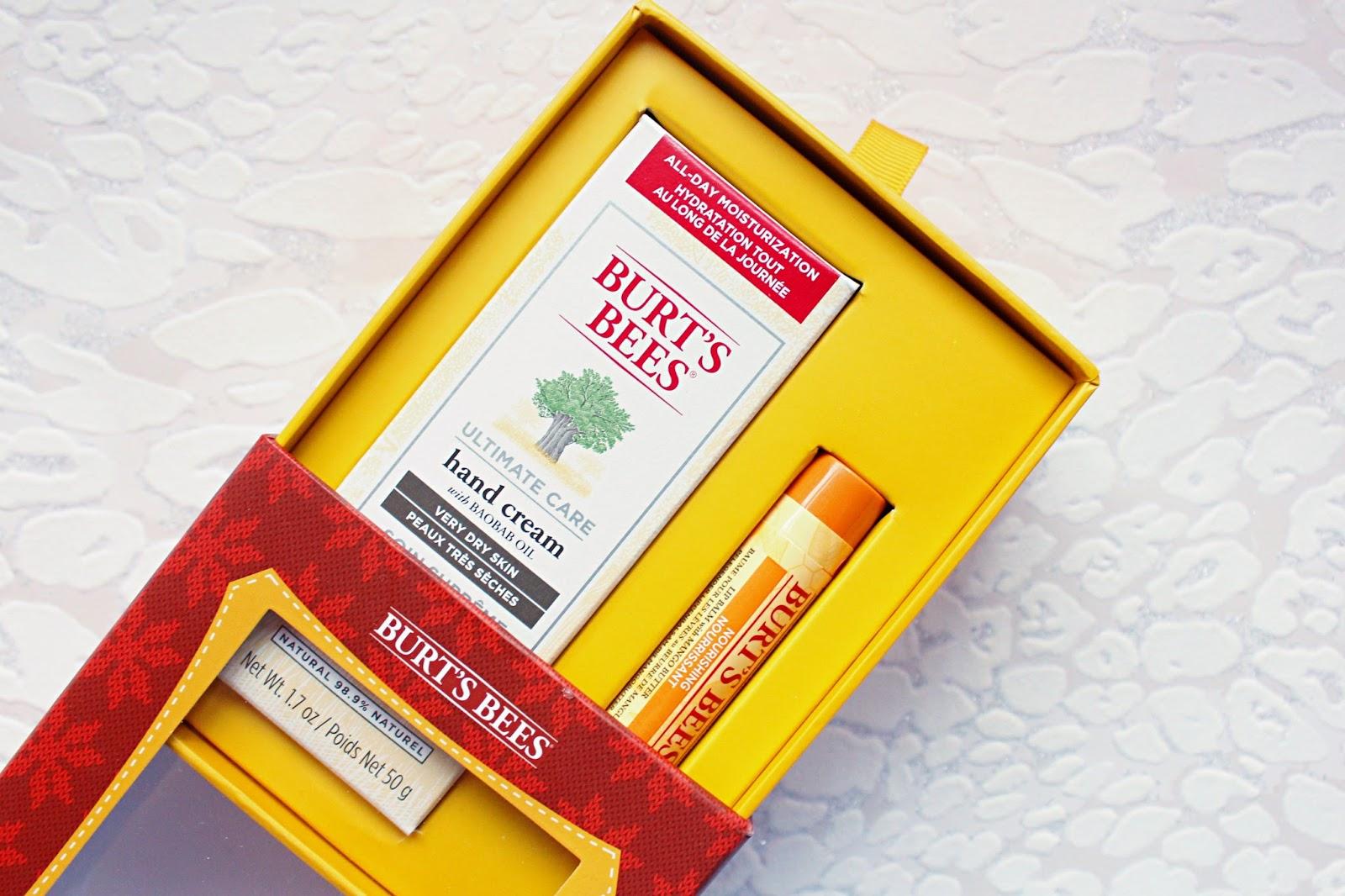Burt's Bees Christmas Gifting