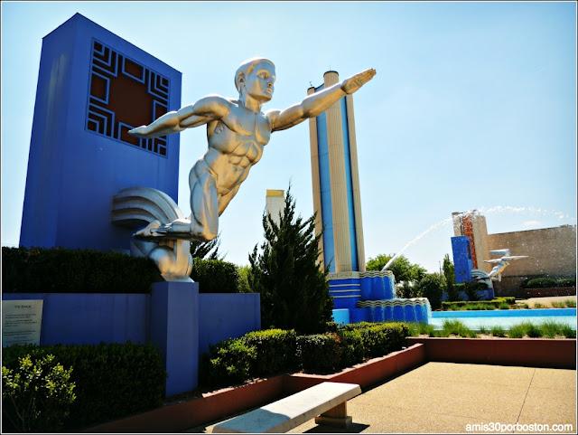 Esculturas de la Esplanade Fountain: Tenor