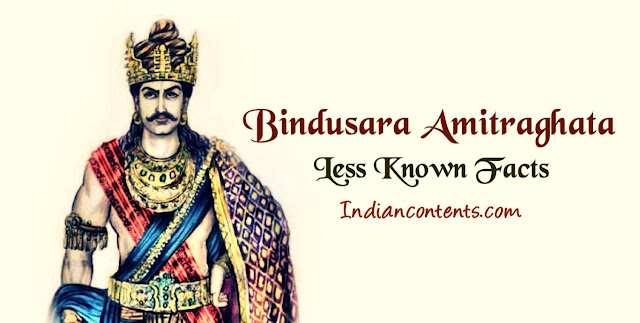 """Bindusara was second ruler of the Mauryan dynasty. Greek scripts refer him as Amitrochates or Allitrochades which was from the Sanskrit word """"Amitraghata"""", which means """"The slayer of enemies."""""""
