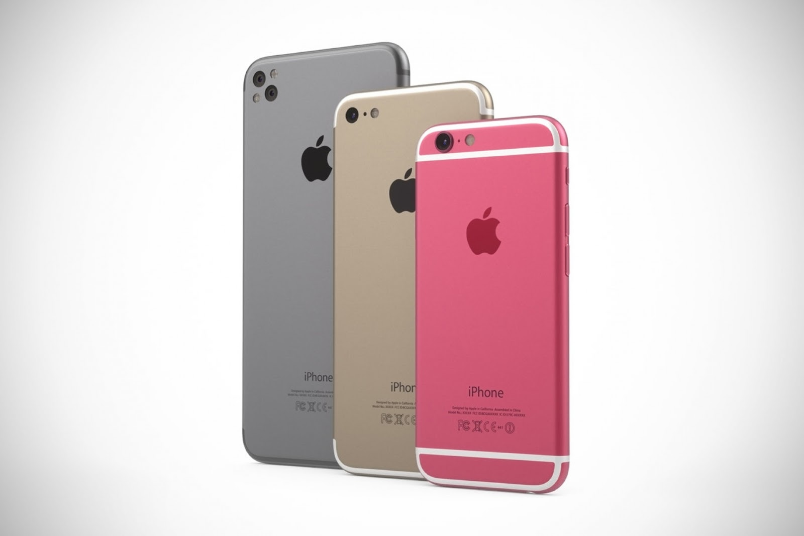 concept video dual camera iphone 7 iphone 7 plus and pink iphone 5se with iphone 6 design. Black Bedroom Furniture Sets. Home Design Ideas
