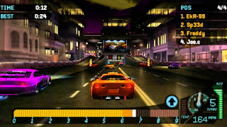 Game Need For Speed Underground Rivals PPSSPP