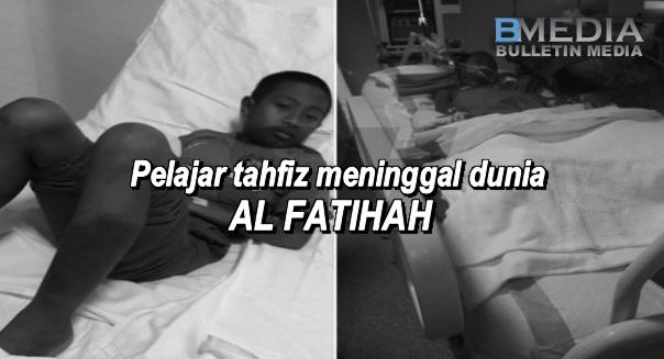 UPDATE ! Berita Gempar Baru Terima Dari Ayah Adik Thaqif Amin Pukul 2 Tadi.. Sama-Sama Kita Sedekahkan Alfatihah...