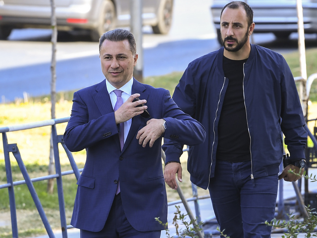 Macedonias Former Prime Minister Nikola Gruevski Has Been Told To Report To Prison On November 8 The Latest To Serve His Two Year Jail Sentence For The