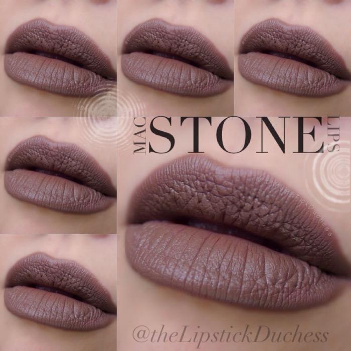 Naturally Transformed Mac Lipstick On Dark Skin