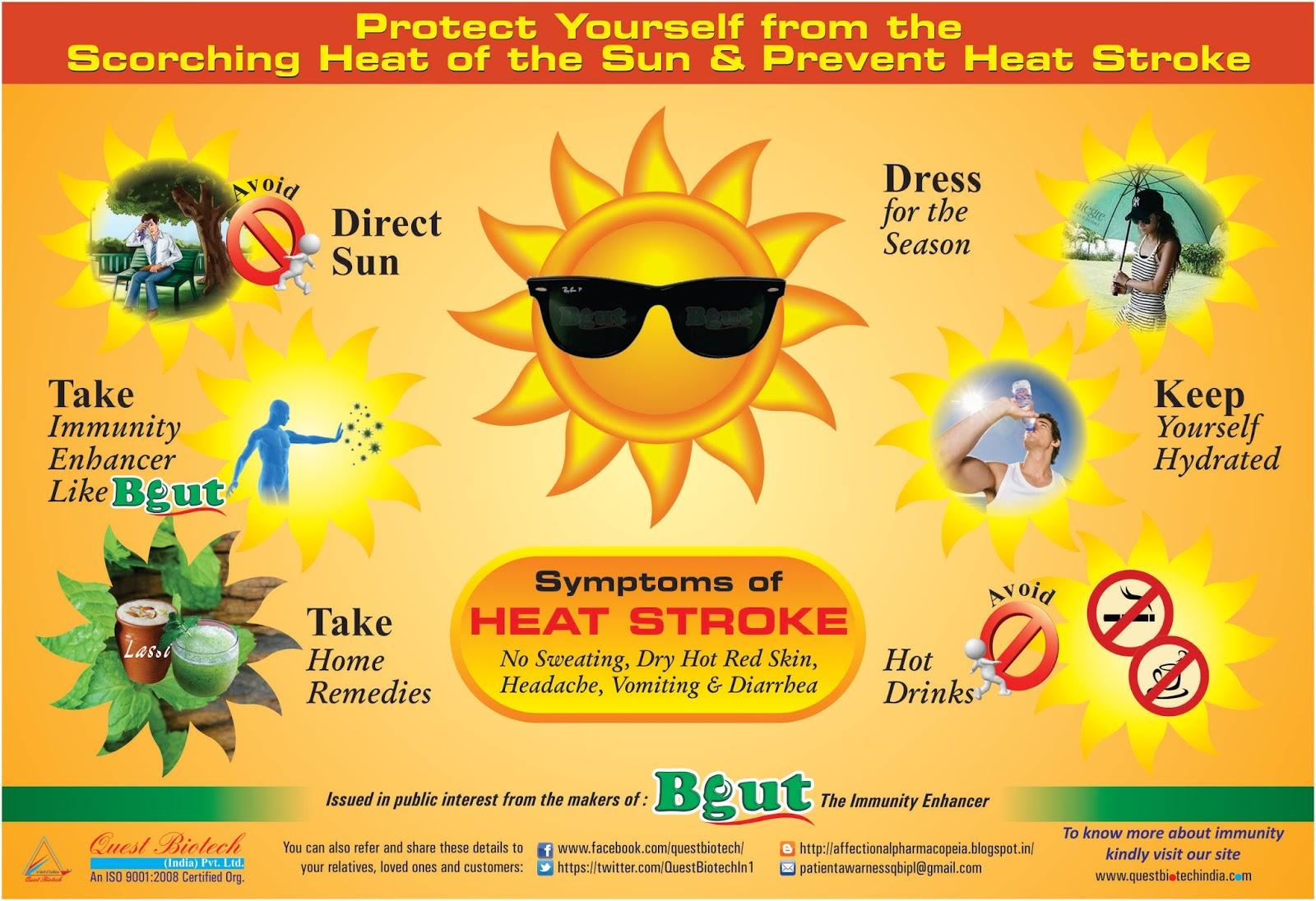 Heatstroke. What is it and how to avoid it