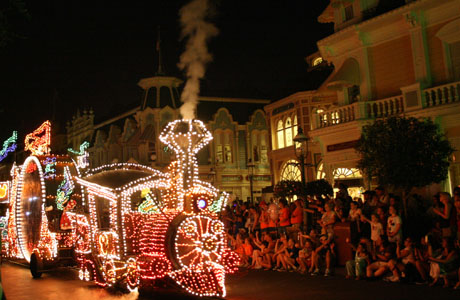 Walt Disney World Resort, Magic Kingdom, desfile